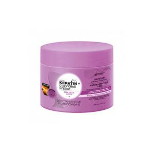 Keratin + Стволовые клетки и биотин БАЛЬЗАМ для всех типов волос Восстановление и омоложение Biтэкс