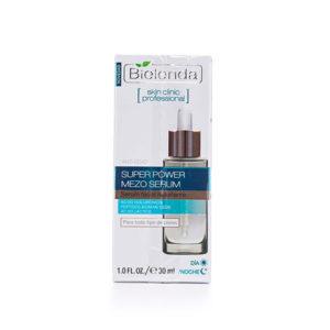 SKIN CLINIC PROFESSIONAL Активная увлажняющая сыворотка ANTI-AGE дневная/ночная (Гиалуроновая и Молочная кислота) Bielenda
