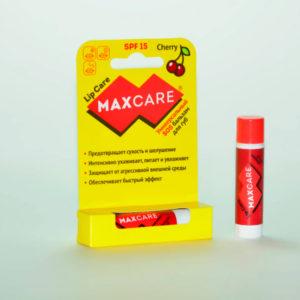 Бальзам для губ SOS универсальный MAXCARE SPF 15 Вишня