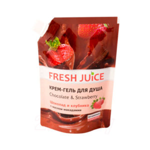 "Гель для душа ""Chocolate & Strawberry"" Fresh Juice"