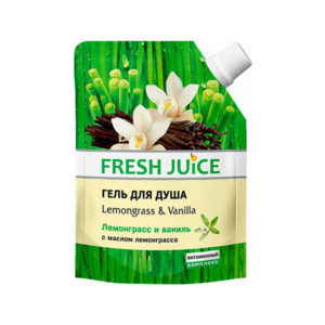 "Гель для душа ""Lemongrass & Vanilla"" Fresh Juice"