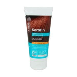 Бальзам для волос. Восстановление структруры Dr.Sante Keratin