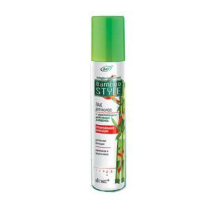 Лак для волос с укрепляющим действием бамбука суперсильной фиксации Вiтэкс