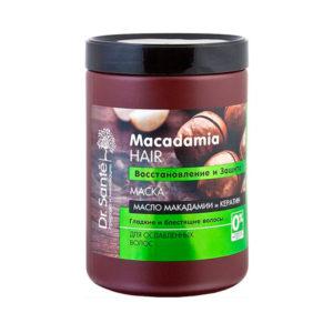 Маска для волос. Восстановление и защита Dr.Sante Macadamia Hair