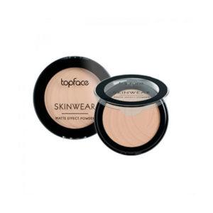 """Пудра матовая Topface""""Skinwear Matte Effect Powder"""" PT265"""