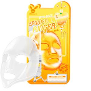 Маска для лица тканевая Elizavecca Vita Deep Power Ring Mask Pack