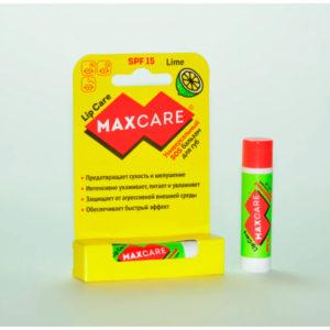 Бальзам для губ SOS универсальный MAXCARE SPF 15 Лайм