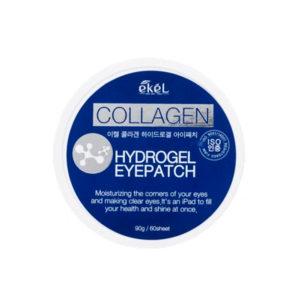 Гидрогелевые патчи для глаз с коллагеном Collagen Hydrogel Eyepatch Ekel 60 шт
