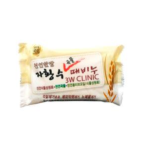 Мыло с экстрактом злаков Grain Soap 3W Clinic