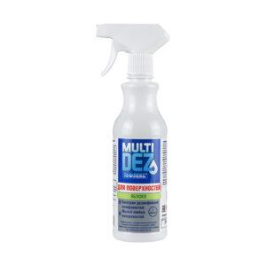 Мультидез-Тефлекс для дезинфекции поверхностей и мытья с отдушкой (Яблоко) 500 мл.