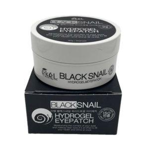 Гидрогелевые патчи от тёмных кругов вокруг глаз с черным жемчугом Black Pearl Hydrogel Eyepatch  Ekel 60 шт