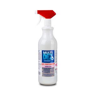 Мультидез-Тефлекс для дезинфекции поверхностей и мытья с отдушкой (Бабл Гам) 500 мл.