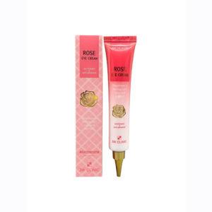 Осветляющий крем для век с экстрактом розы ROSE EYE CREAM 3W Clinic