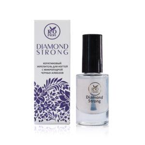 Diamond Strong Кератиновый укрепитель ногтей с микропудрой черных алмазов Rio Profi
