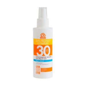 Солнцезащитное водостойкое молочко SolBianca 30 SPF для лица и тела