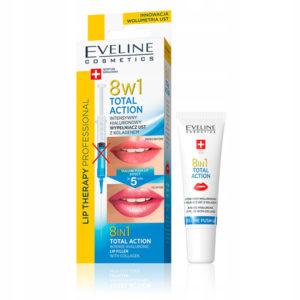Eveline Cosmetics Гиалуроновый филлер для губ с коллагеном Total action 8в1