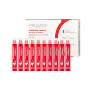 Восстанавливающий филлер для поврежденных волос с керамидами Ceramide Damage Clinic Hair Filler FarmStay