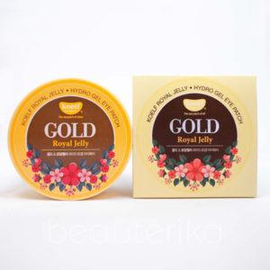Гидрогелевые патчи для глаз «Золото и пчелиное маточное молочко» Koelf Hydro Gel Gold & Royal Jelly Eye Patch 60 шт