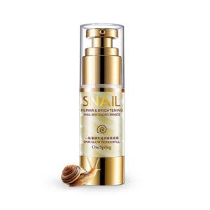 Крем для век с улиточным муцином, коллагеном и гиалуроновой кислотой One Spring Snail Repair & Brightening Eye Cream