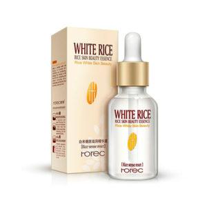 Омолаживающая сыворотка для лица с экстрактом белого риса Rorec