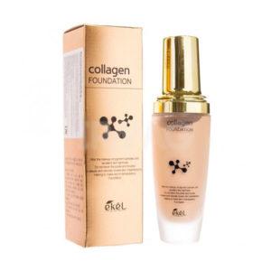 Ekel Collagen Foundation Тональная основа с коллагеном 21, 23 тон