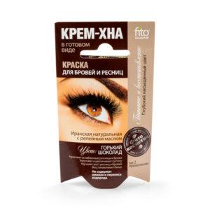 Краска для бровей и ресниц Крем-Хна,  Горький шоколад