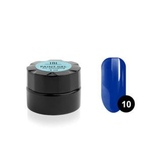 Гель-краска для стемпинга TNL №10 - синяя
