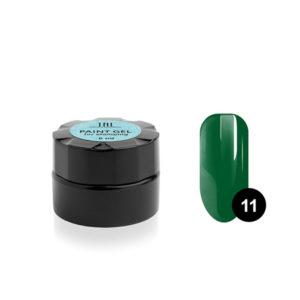 Гель-краска для стемпинга TNL №11 - зеленая