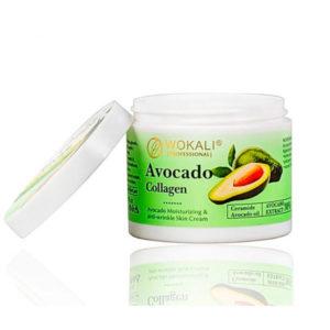 Крем против морщин с коллагеном (авокадо)