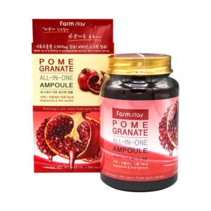 Ампульная сыворотка для лица с экстрактом граната FarmStay Pomegranate All-In One Ampoule