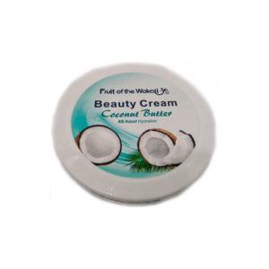 Кокосовый крем для лица и тела Coconut Cream Fruit of the Wokali
