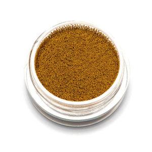 Бульонки супер мелкие - золото- 0,2 мм