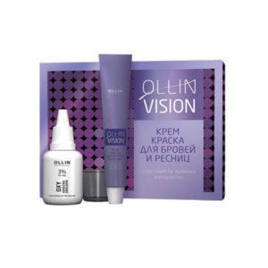 Краска для бровей и ресниц VISION графит Ollin