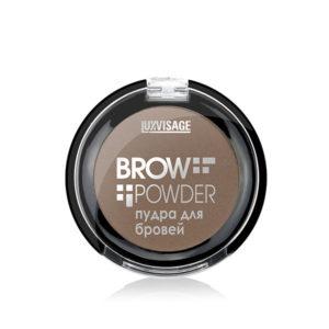 Пудра для бровей Brow powder Luxvisage №1