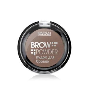 Пудра для бровей Brow powder Luxvisage №2