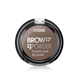 Пудра для бровей Brow powder Luxvisage №4