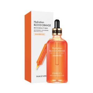 Восстанавливающая сыворотка для лица, гиалуроновая кислота и красный апельсин, питательная IMAGES