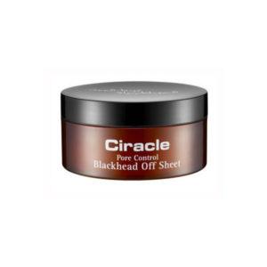 Салфетки для удаления черных точек Pore Control Blackhead Off Sheet Ciracle, 30 шт