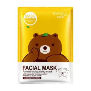 Противовоспалительная маска для лица с Зеленым чаем (Медведь) BioAqua