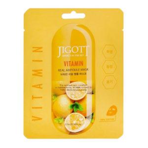Ампульная маска для лица с с витаминами Jigott