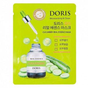 Тканевая маска с экстрактом огурца Doris