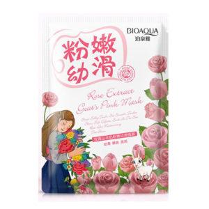 Омолаживающая маска с экстрактами розы и  козьего молока BioAqua