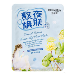 Тканевая маска Natural Extract Water Lily