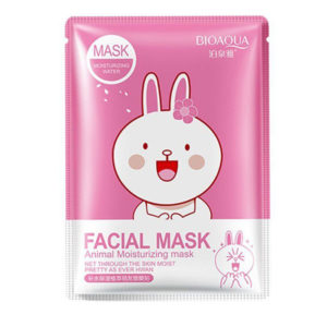 Восстанавливающая маска для лица с Сакурой (Заяц) BioAqua