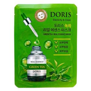 Тканевая маска с экстрактом зеленого чая Doris
