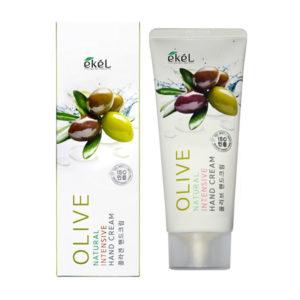 Крем для рук с экстрактом оливы питательный Olive Natural Intensive Hand Cream
