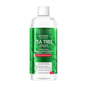 Очищающая мицеллярная вода для лица, глаз и губ 3в1 BOTANIC EXPERT Eveline Cosmetics