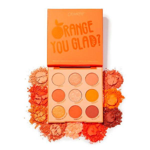 Тени для век 9 цветов Orange You Glad