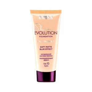 Крем тональный Skin evolution  soft matte blur effect Luxvisage