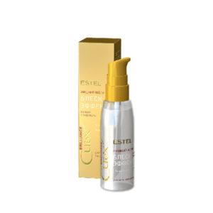 Жидкий шёлк «Блеск-эффект» для всех типов волос CUREX BRILLIANCE